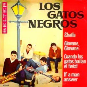portada del disco Sheila / Giovanne, Giovanne / Cuando los Gatos Bailan Twist / If a Man Answer