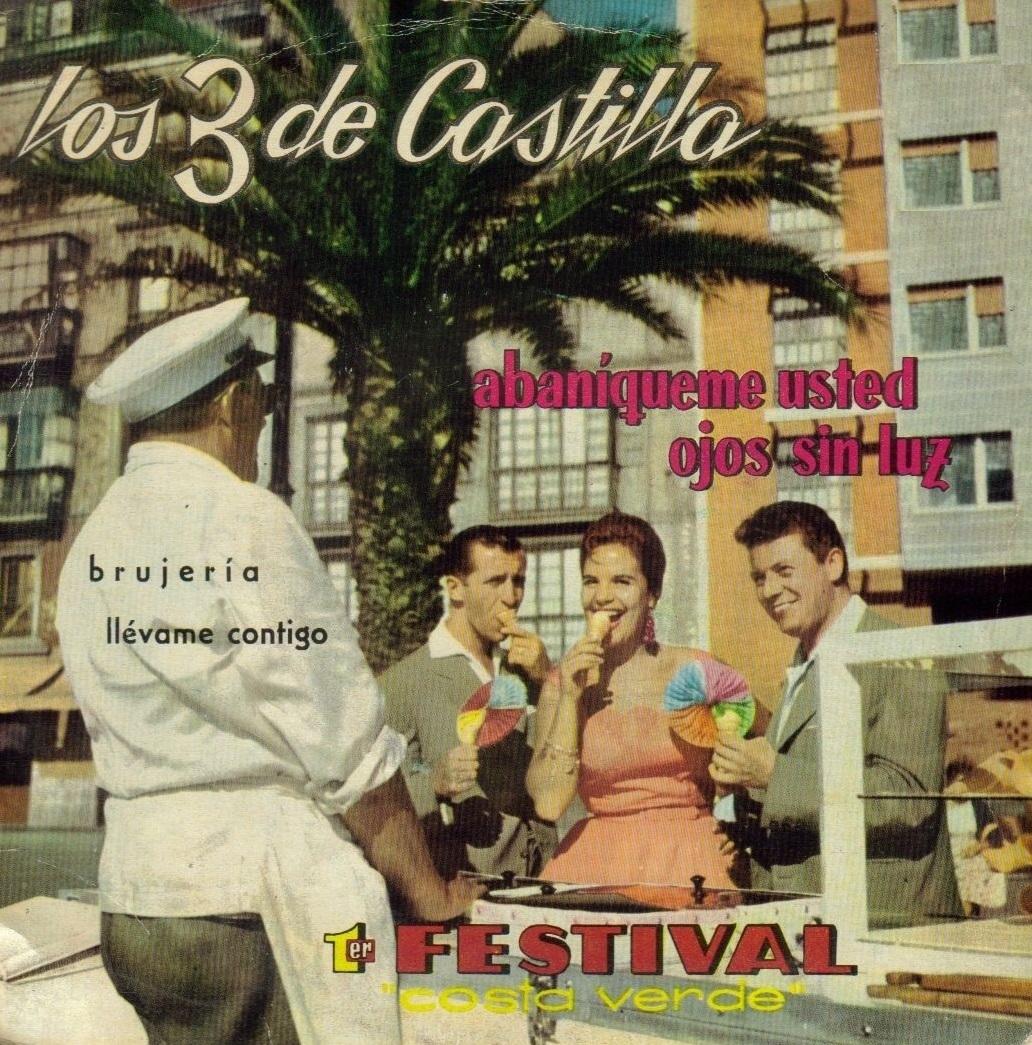 portada del disco 1er. Festival de la Costa Verde
