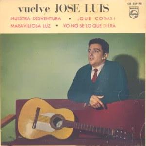 portada del disco Vuelve José Luis