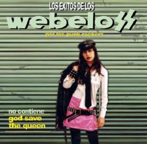 portada del album Los Éxitos de los Webelos por los Punkrockers