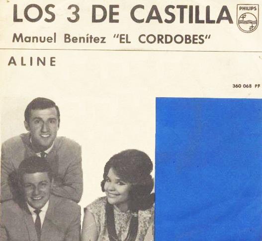 """portada del disco Manuel Benítez """"El Cordobés"""""""