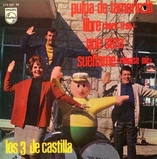 portada del disco Pulpa de Tamarindo / Libre / Qué Será / Suéltame