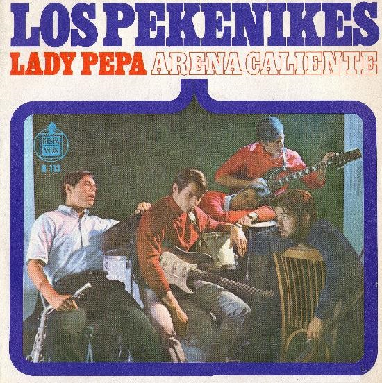 portada del disco Lady Pepa / Arena Caliente