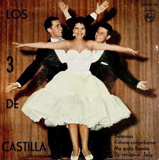 portada del disco Salerosa / Gitana Colombiana / Me Gusta España / Ya Tenemos Tele
