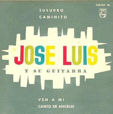 portada del disco Susurro / Caminito / Ven a Mí / Canto de Ángeles