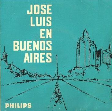 portada del disco José Luis en Buenos Aires