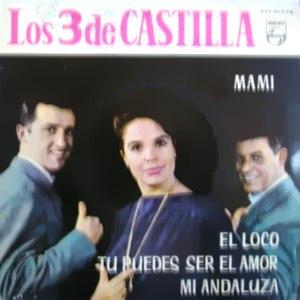 portada del disco Mami / Tú Puedes Ser el Amor / El Loco / Mi Andaluza