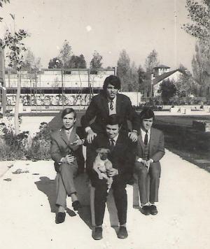 foto del grupo imagen del grupo Los Flames