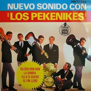 portada del disco Nuevo Sonido con Los Pekenikes