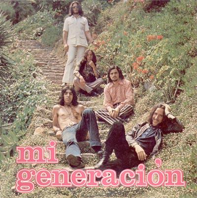 portada del album Mi Generación