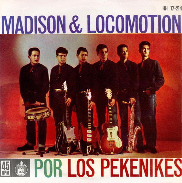 portada del disco Madison & Locomotion
