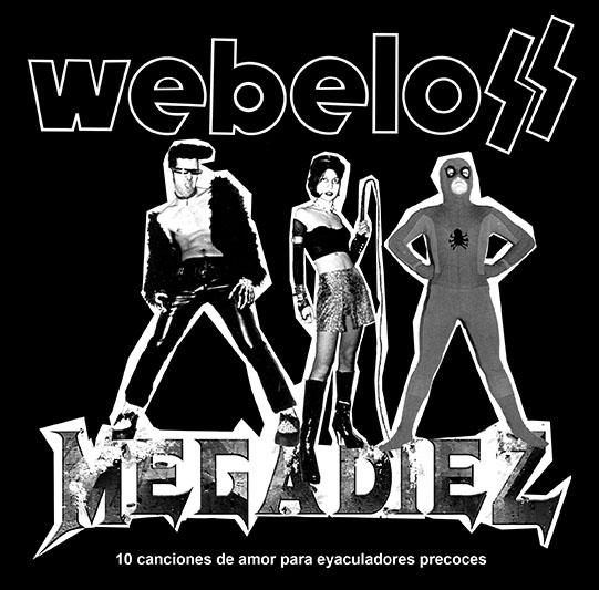 portada del album Megadiez