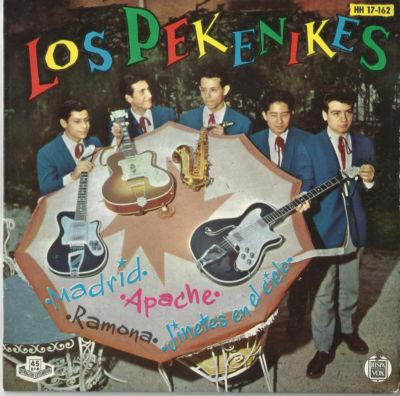 portada del disco Madrid / Apache / Ramona / Jinetes en el Cielo