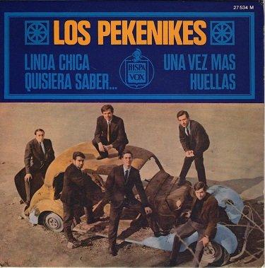 portada del disco Linda Chica / Una Vez Más / Quisiera Saber... / Huellas