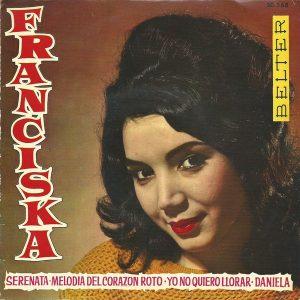portada del disco Melodía del Corazón Roto / Serenata / Daniela / Yo no Quiero Llorar