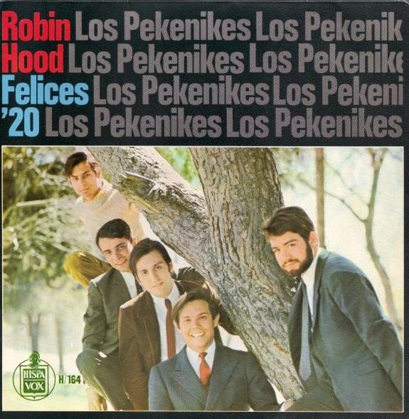 portada del disco Robin Hood / Felices '20
