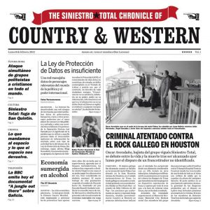 portada del disco Country & Western