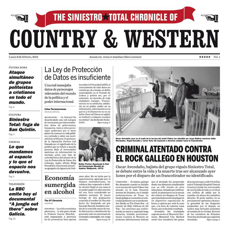 portada del album Country & Western