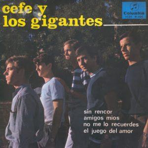 portada del disco Sin Rencor / Amigos Míos / No Me lo Recuerdes / El Juego del Amor