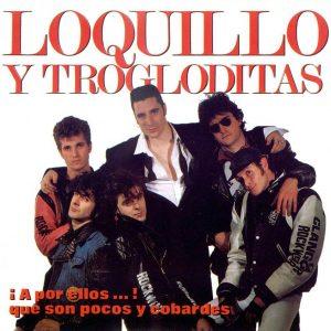 portada del disco ¡A por Ellos...! que son Pocos y Cobardes