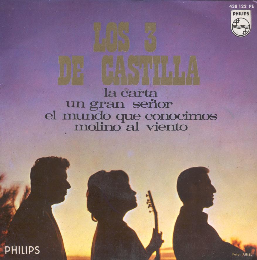 portada del disco La Carta / Un Gran Señor / El Mundo que Conocimos / Molino al Viento