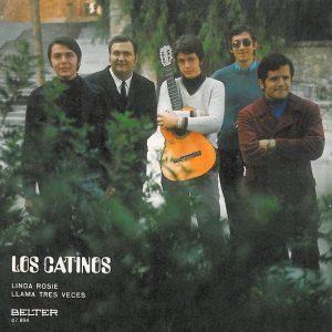 portada del disco Linda Rosie / Llama Tres Veces