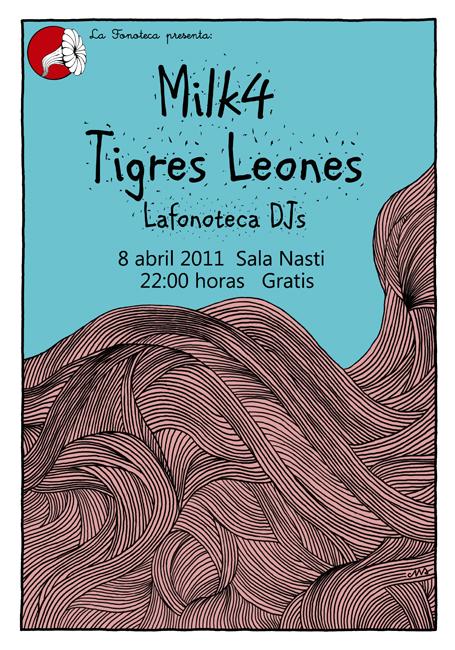 portada del evento PRESENTACIÓN DEL EP DE TIGRES LEONES Y ESTRENO DE MILK4