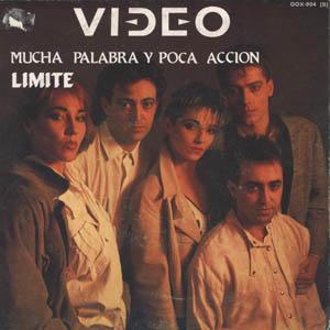 portada del disco Mucha Palabra, Poca Acción / Límite