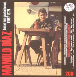 portada del disco Manolo Díaz. Todas sus Grabaciones