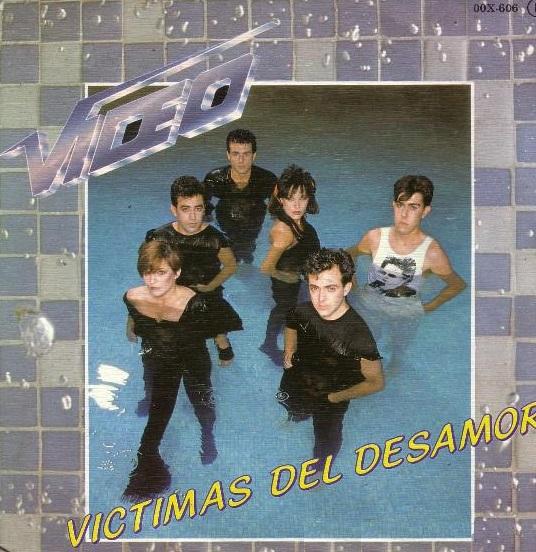 portada del disco Víctimas del Desamor