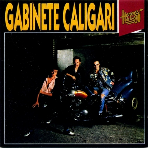 portada del album Héroes de los 80