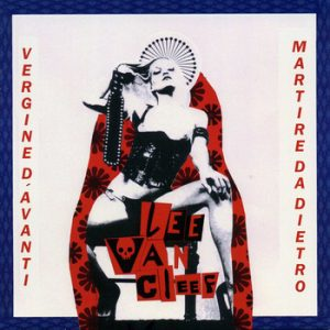 portada del album Virgen por Delante, Mártir por Detrás