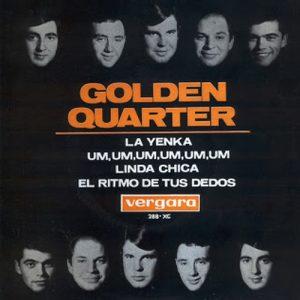 portada del disco La Yenka / Um, Um, Um, Um, Um, Um / Linda Chica / El Ritmo de los Dedos