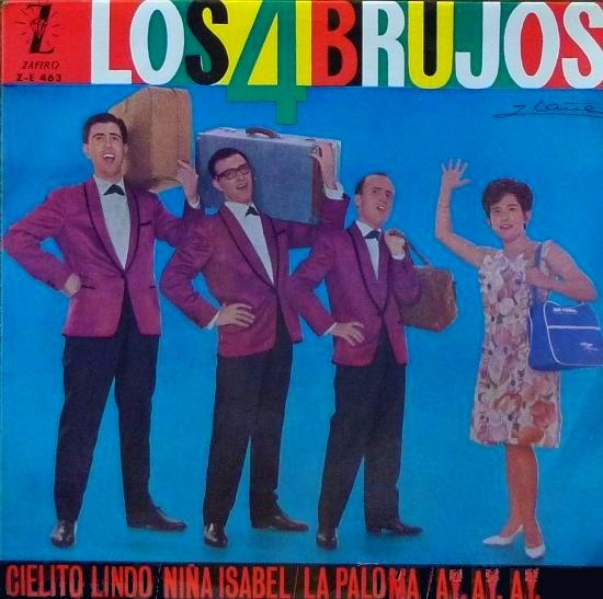 portada del disco Cielito Lindo / Niña Isabel / La Paloma / Ay, Ay, Ay