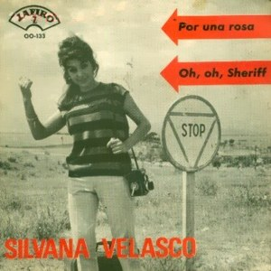 portada del disco Por Una Rosa / Oh, Oh, Sheriff