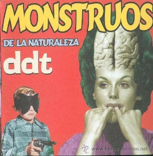 portada del album Monstruos de la Naturaleza