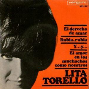 portada del disco El Derecho de Amar / Rubia, Rubia / Y...Y... / El Amor en los Muchachos como Nosotros