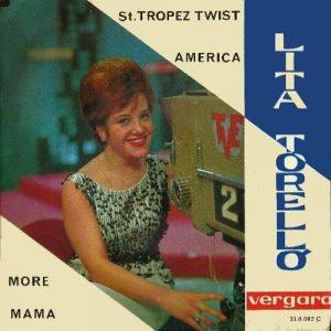 portada del disco Saint Tropez Twist / América / More / Mama