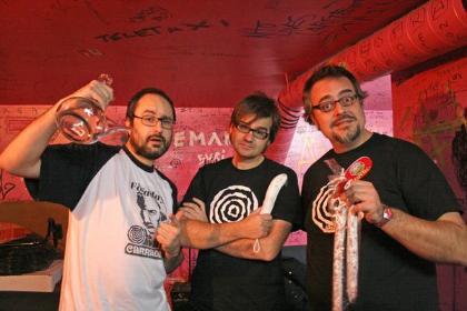 foto del grupo Los Carradine