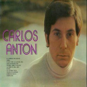 portada del disco Carlos Antón