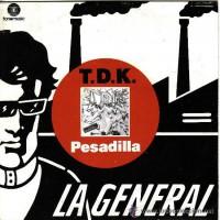 portada del disco Pesadilla / Magüu x Heike