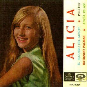 portada del disco Un Jilguero de Monte / Alicia Es Así / Psicosis / Batiendo Palmas