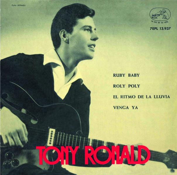 portada del disco Ruby Baby / Roly Poly / El Ritmo de la Lluvia / Venga Ya