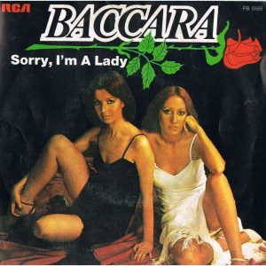 portada del album Sorry, I'm a Lady