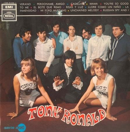 portada del disco Tony Ronald
