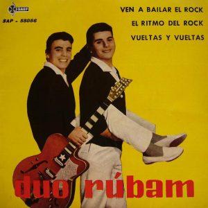 portada del disco Ven a Bailar Rock / El Ritmo del Rock / Vueltas y Vueltas