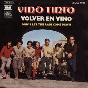 portada del disco Volver en Vino