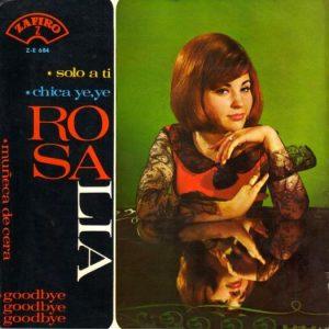 portada del disco Chica Ye-Yé / Solo a Ti / Muñeca de Cera / Goodbye, Goodbye, Goodbye