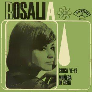 portada del disco Chica Ye-Yé / Muñeca de Cera