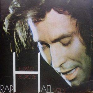 portada del disco El Disco de Oro de Raphael Vol 2